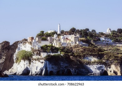 Ponza, the greatest island from the pontinischen islands, italy, europe
