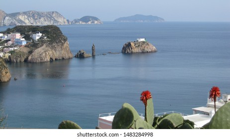 Ponza, view of the island from the southern part