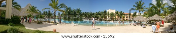 At the Pool of Hotel Iberostar Bajahibe Domenican Republic