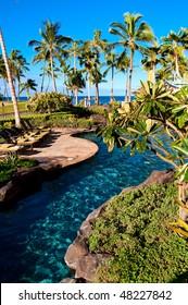 Pool in Marriott timeshare beach resort