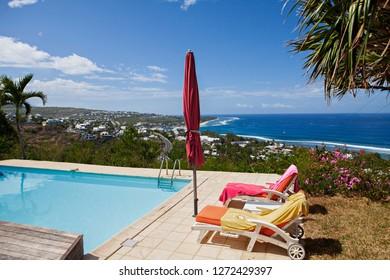 pool overlooking the indian ocean
