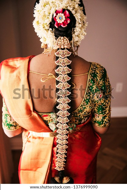 Poola Jada hairstyles adorned by these South Indian Brides on their wedding day