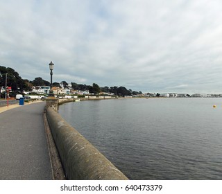 Poole harbour in the Jurassic coast of Dorset, United Kingdom.
