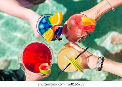 Poolside Cocktails