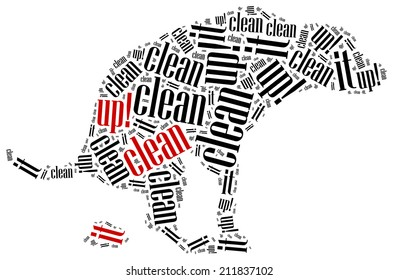 how to clean carpet after dog poop