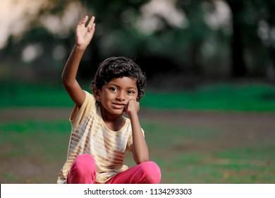 poor indian girl child