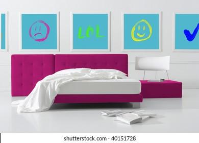 pop bedroom