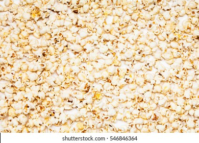 Popcorn background of texture