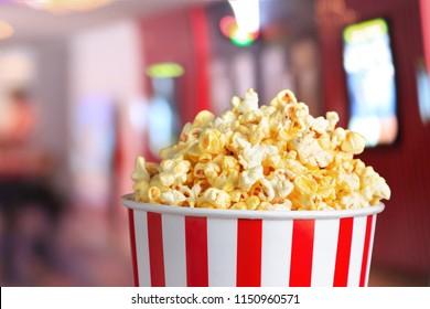 popcorn blast salty box in cinema time