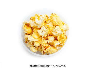 Popcorn is delicious. In the cup.