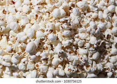 Popcorn, popcorn. everywhere.