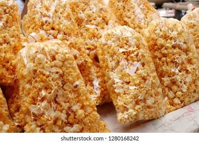 Popcorn in the market