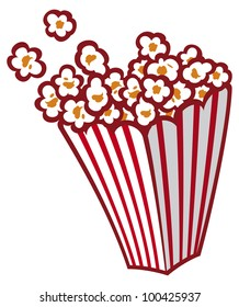 popcorn cartoon images stock photos vectors shutterstock rh shutterstock com