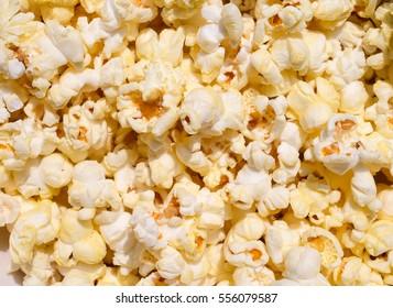 Popcorn texture background.