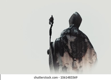 Pope in the fog