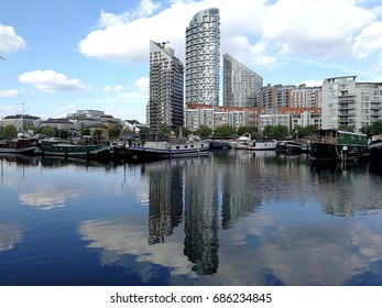 Poplar Dock Marina East London