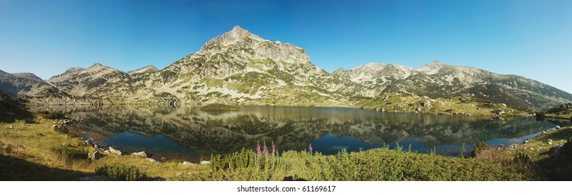 Popovo Lake -largest lake in Pirin National Park,mountains are named after Perun ,highest god of the Slavic pantheon and the god of thunder and lightning