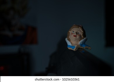 a poppet head in a portrait angle