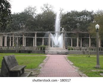 Popp's Fountain, New Orleans, Louisiana, City Park