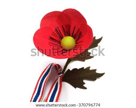 Poppy flower thai veterans day 3 stock photo edit now 370796774 poppy flower for the thai veterans day 3 february of each year mightylinksfo