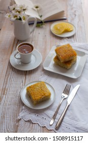 Poppy seed pie with lemon flavour