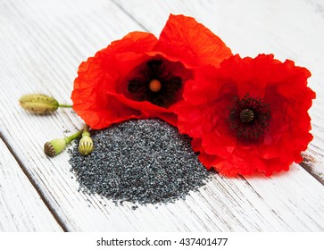 Poppy Seed Flower Images Stock Photos Vectors Shutterstock