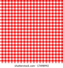 Popular background pattern for picnics
