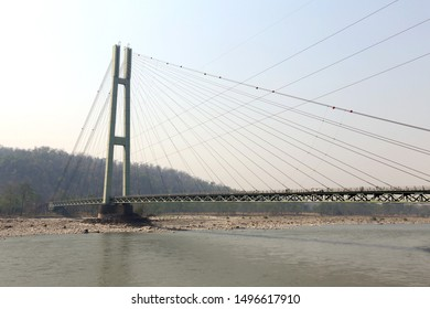 Popular bridge which is spans the Karnali River between the Kailali District and Bardiya District of western Nepal.