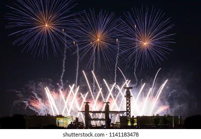 Popular Fourth of July Fireworks in Blue Ash, Cincinnati, Ohio