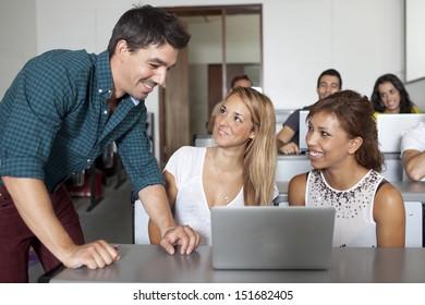 popular professor with students