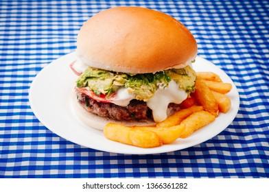 popular restaurant Typical Chilean sandwich