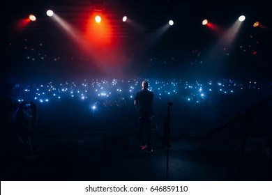 Crowds with Cell Phones Stock Photos, Images & Photography