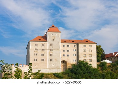 Popular tourist destination chateau Detenice in Czech Republic near Mlada Boleslav
