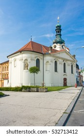 Popular tourist destination chateau Detenice in Czech Republic near Mlada Boleslav
