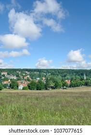 popular Village of Braunlage in Harz Mountain,lower Saxony,Germany