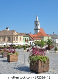 popular Wine Village of Rust at Lake Neusiedlersee,Burgenland,Austria