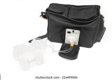 Poratable electric breast pump