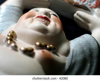 Porcelain Buddha
