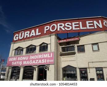 Güral Porcelain Store  - 21 March 2018 Kütahya - Turkey
