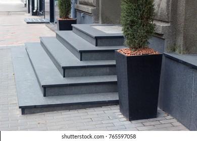 Granite Stairs Images, Stock Photos & Vectors   Shutterstock