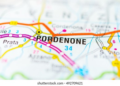 Map Of Pordenone Images Stock Photos Vectors Shutterstock