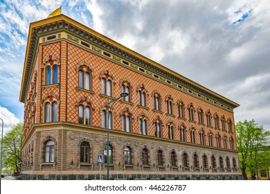 Pori City Hall, also known as Junneliuksen Palace, is one of the most valuable Neo-Renaissance buildings in Finland. It was designed by architect August Krook  and built in 1894-1895.