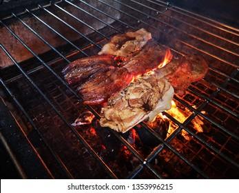 Pork Barbecue Grilling