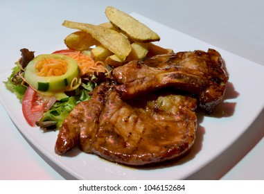 Pork chops gourmet