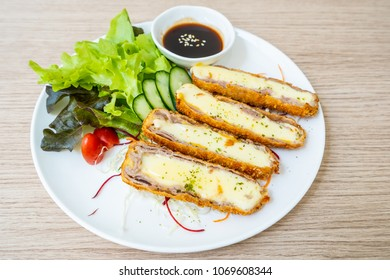 pork cutlet and cheese