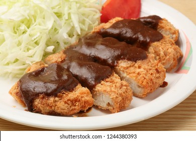Pork Cutlet with Miso Sauce