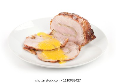 pork with mustard sauce