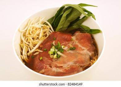 Pork soup Thai food