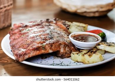 Pork Spare Ribs Barbecue