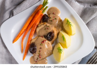 pork tenderloin in plum sauce